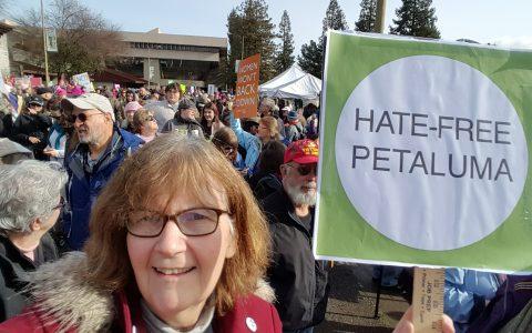 HATE-FREE PETALUMA -2