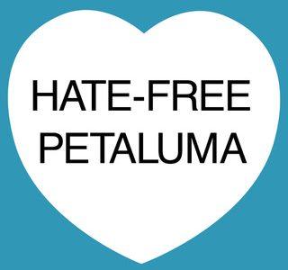 HATE-FREE PETALUMA